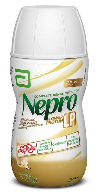 Nepro LP Vanilla 220ml Bottle S553.119