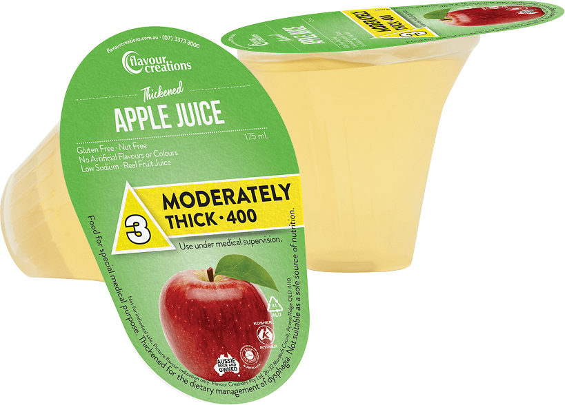 Flavour Creations Pre-Thickened Apple Juice Moderately Thick
