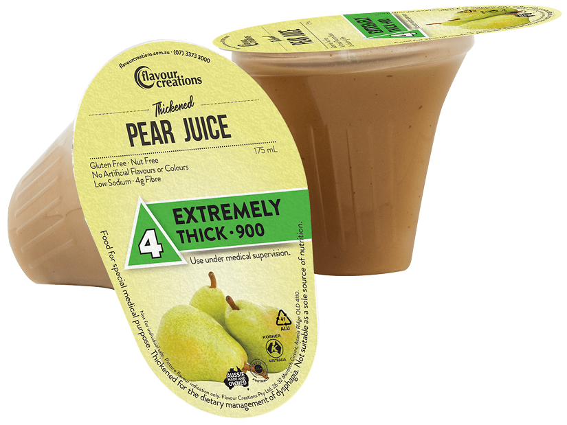 Flavour Creations Pre-Thickened Functional Pear Juice Extremely Thick