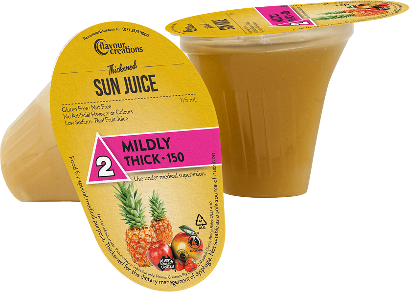 Flavour Creations Pre-Thickened Sun Juice Mildly Thick