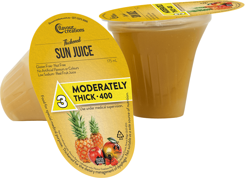 Flavour Creations Pre-Thickened Sun Juice Moderately Thick